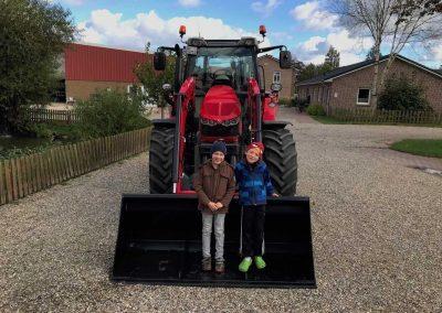 Der neue Massey Ferguson auf dem Bauernhof