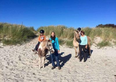 Ponyreiten bis zur Ostsee, das Highlight der Woche!