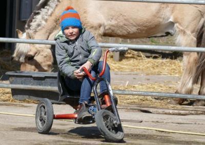 Kettcar fahren Bauernhof