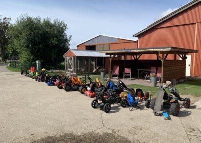 Bauernhof Fehmarn alle Kettcars